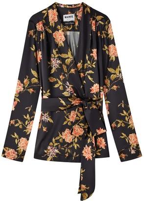 Maimie London Roxy Flora Silk Jacket