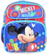 "Disney Backpack Mickey Mouse M28 12"" New 676476"