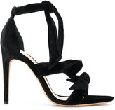 Alexandre Birman tie front heeled sandals
