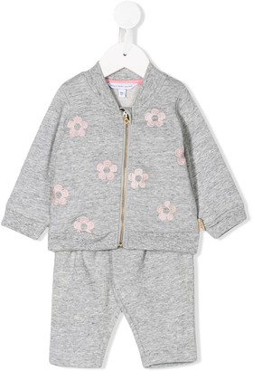 Little Marc Jacobs Floral Embroidered Tracksuit