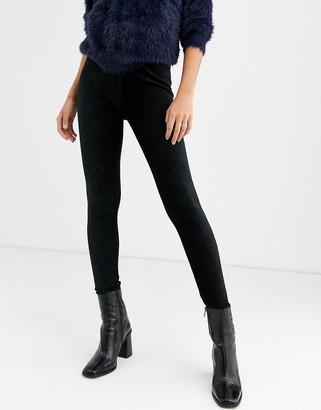 B.young loose fit leggings-Black