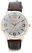 Perry Ellis Croc Band Watch