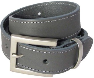 N'damus London The Orion Grey Belt Silver Buckle
