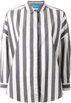 MiH Jeans Statement Stripe shirt