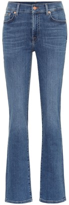 7 For All Mankind The Straight high-rise jeans