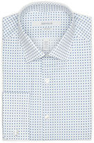 Perry Ellis Very Slim Box Print Dress Shirt