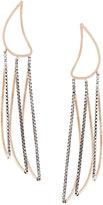 By Boe petal outline earrings