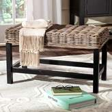 Safavieh Omari Wicker Bench