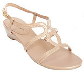 Andrew Geller Leather Multi-Strap Gladiator Sandals