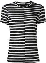 Frame striped T-shirt