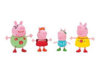 Peppa PEP - 4 Figure Pack - Family Celebrations