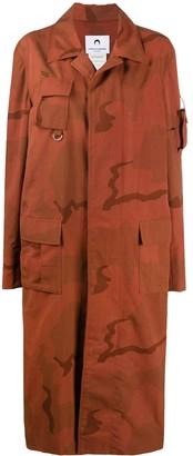 Marine Serre Regenerated Military coat