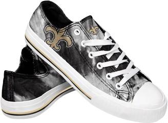 Women's New Orleans Saints Tie-Dye Canvas Shoe