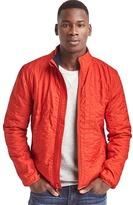 Fleece-lined quilt jacket