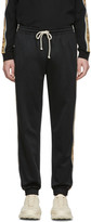 Gucci Black Technical Jersey Jogging Pants