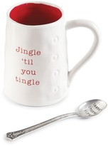 Mud Pie Jingle Til You Tingle Mug & Spoon