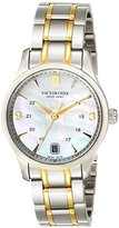 Victorinox Women's 249062 Alliance Analog Display Swiss Quartz Two Tone Watch