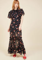 Anna Sui Choose Your Catwalk Maxi Dress in 8