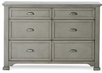 Child Craft Roland Ships Fully Assembled 6 Drawer Double Dresser Color: Mist