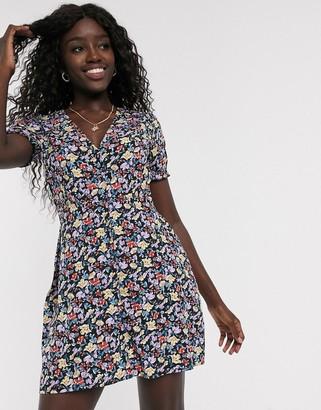 Influence mini tea dress in floral print
