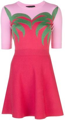 Boutique Moschino Fine Knit Skater Dress