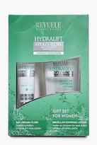boohoo NEW Womens Revuele Facial Care Gift Set in Green size One Size