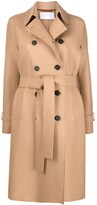 Thumbnail for your product : Harris Wharf London Pressed Wool Trench Coat