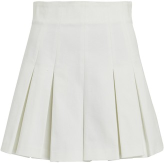 AMUR Apollo Pleated High-Rise Shorts