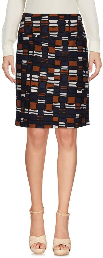 Laura Urbinati Knee length skirts - Item 35320478