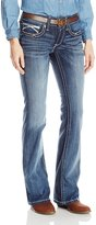 Ariat Women's Women's R.E.a.L Riding Mid Rise Boot Cut Jean