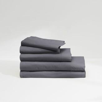 Casper Sateen Sheet Set Midnight Grey Full