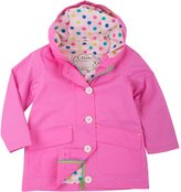 Hatley Cotton Coated Raincoat-Colorful Polka Dots-3