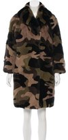 Michael Kors Camouflage Mink Coat