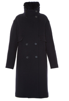 Jil Sander Bluetooth double-breasted coat
