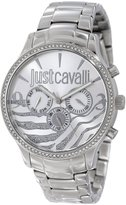 Just Cavalli r7253127513 42mm Steel Bracelet & Case Mineral Women's Watch