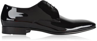 HUGO BOSS Patent Derby Cristallo Shoe