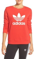 adidas Women's Logo Crewneck Sweater