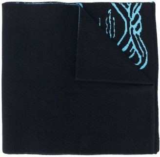 Versace Pop Medusa wool scarf