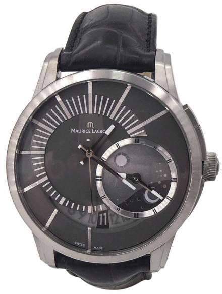Maurice Lacroix Pontos Decentrique PT6108 Titanium 45mm Mens Watch