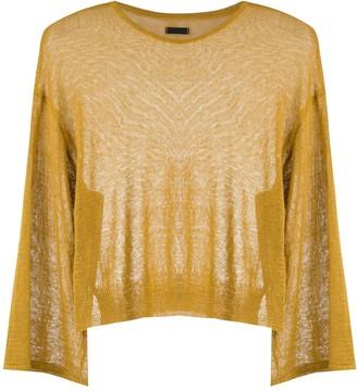 OSKLEN Knitted Linen Blouse