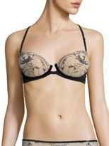 Calvin Klein Underwear Push-Up Racerback Balconette Bra