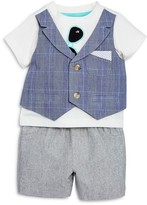 Miniclasix Boys' Sunglasses Vested Tee & Shorts Set