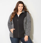 Avenue Miter Quilted Fleece Jacket