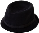 ANTHONY PETO - Black pork pie hat