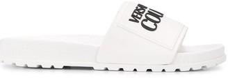 Versace Embossed Logo Sliders