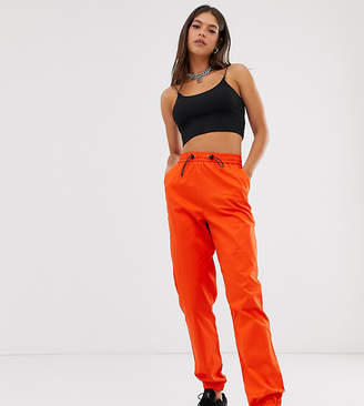 Collusion COLLUSION Tall cuffed cargo pants-Pink