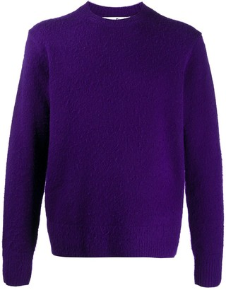 Acne Studios Ribbed Crew Neck Jumper