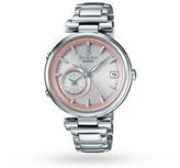 Sheen Casio Ladies' Time Ring Bluetooth Hybrid Smartwatch Alarm Watch