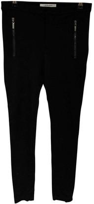 LK Bennett Black Cloth Trousers for Women