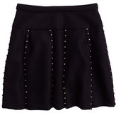 J.Crew Collection jeweled box-pleat skirt